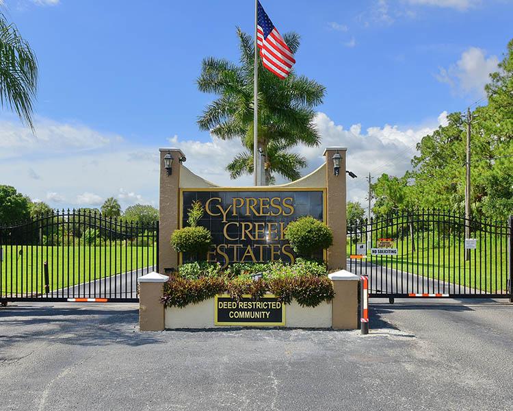 Cypress Creek Estates